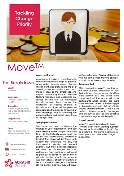 Move-Business Game